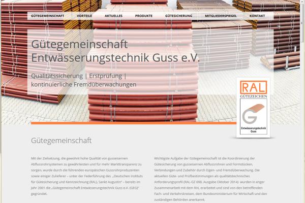 GEG mit neuer Website