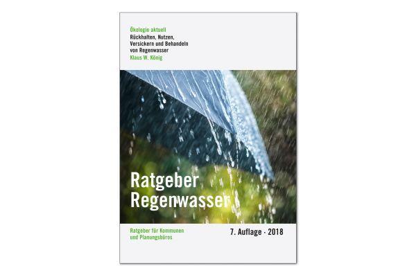 Das Bild zeigt Ratgeber Regenwasser.