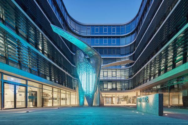 Der Hauptsitz von Siemens in München.