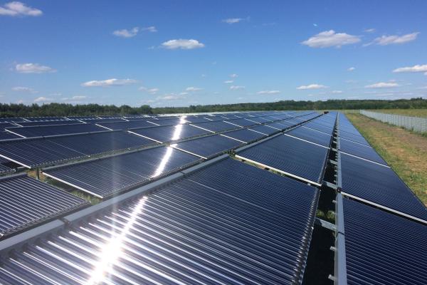 MW-Solarthermie-Anlage Senftenberg