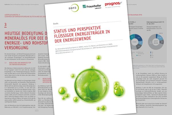 Prognos-Studie zu neuen flüssigen Energieträgern