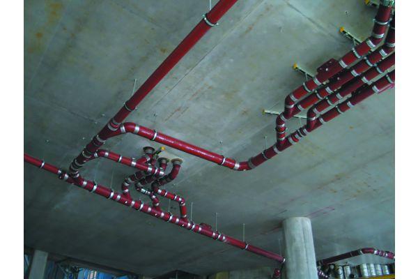 "Nichtbrennbares gusseisernes Abflussrohrsystem ""PAM-Global S""."