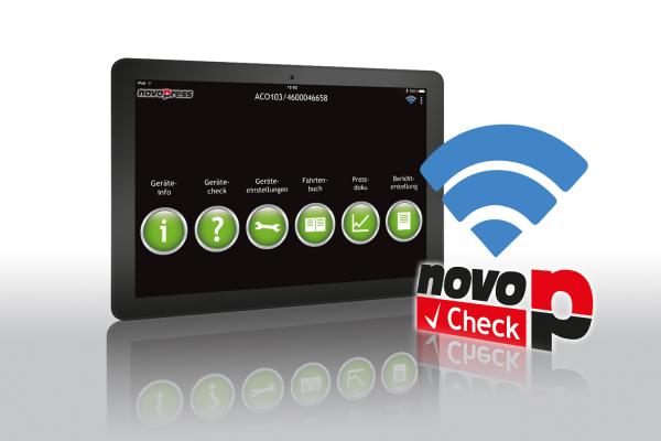 Novopress-Presstechnik wird smart