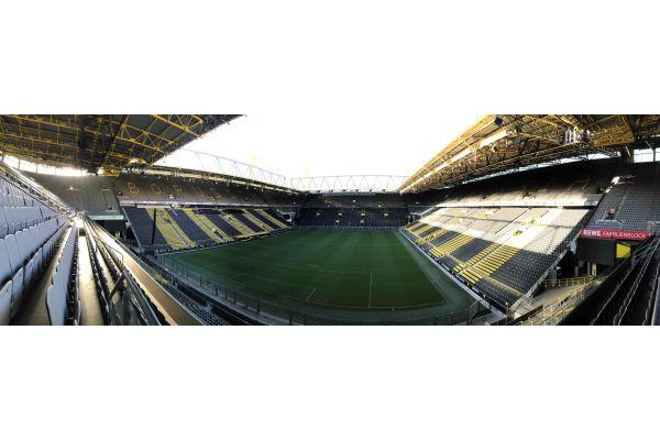 Das Dortmunder Fußballstadion.