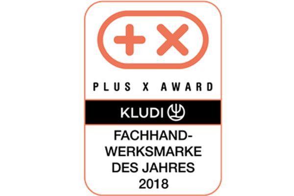 """Das Bild zeigt das Logo des """"Plus X Award"""""""