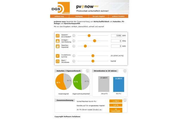 Wirtschaftlichkeit von Photovoltaikanlagen einfach berechnen