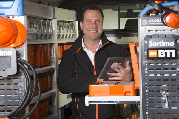 BTI bietet Fahrzeugeinrichtung von Sortimo