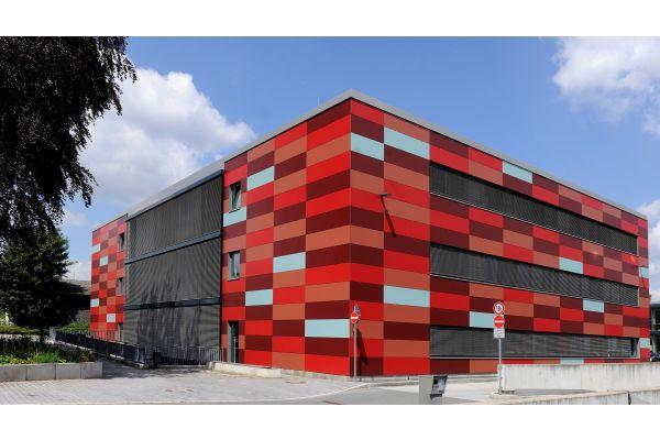 Das BAULAB 3 – Herzstück des Fachbereichs Bauingenieurwesen an der Hochschule OWL in Detmold.