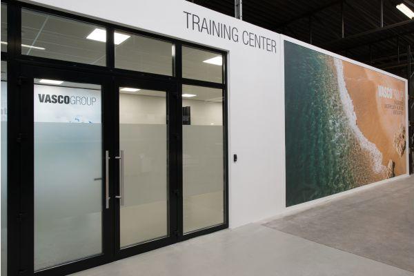 Das Bild zeigt das neue Vasco Training-Center in Dilsen.
