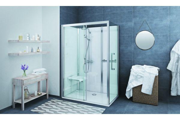 """Die """"Roth Vinata Comfort"""" ist mit einem Sitz und Haltegriffen erhältlich. Sie eignet sich zum Austausch für eine bestehende Badewanne."""