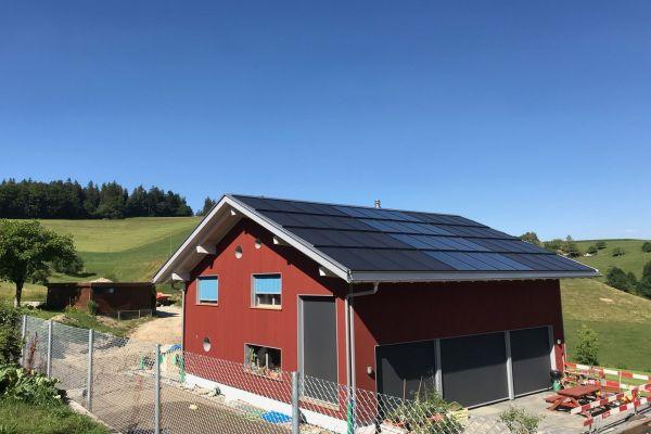 Neubau in der Schweizer Gemeinde Vechigen.