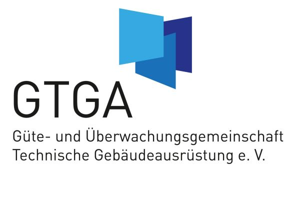 Das Bild zeigt das Logo der Güte- und Überwachungsgemeinschaft Technische Gebäudeausrüstung.