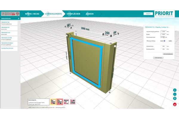 Online-Planungstool für den baulichen Brandschutz
