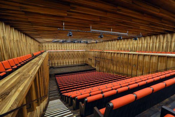 Kammermusiksaal im Carmen Würth Forum in Künzelsau.