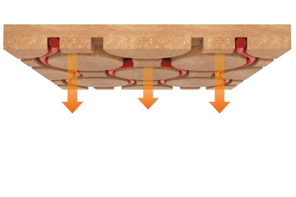 Wohlfühlklima mit elektrischer Lehmklima-Decke