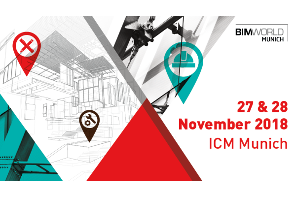 BIM World MUNICH 2018 – 27. + 28. November