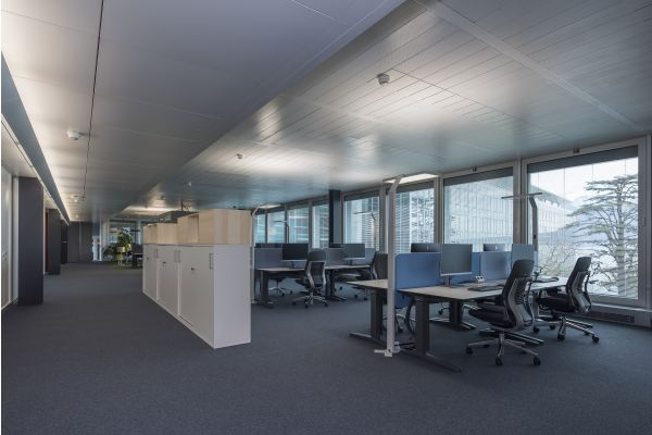 Büroraum im Hauptsitz von Nestle.