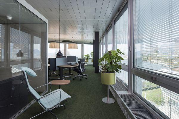 Büro im Hauptsitz von Nestle.