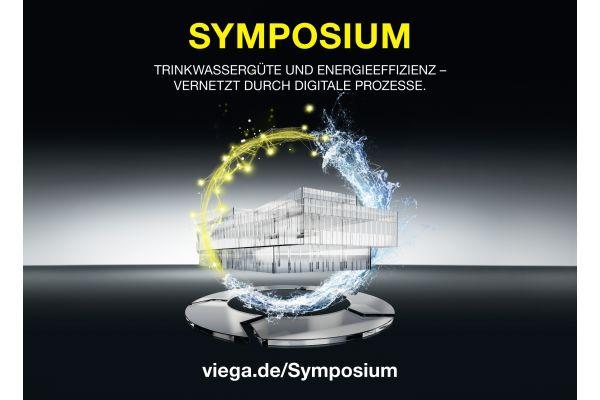 Das Bild zeigt das Viega-Symposium-Werbeplakat.