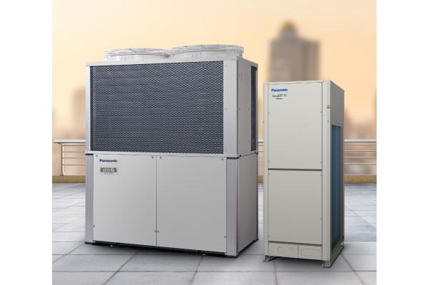 Panasonic zeigt Kältetechnik und VRF-Hybridsysteme