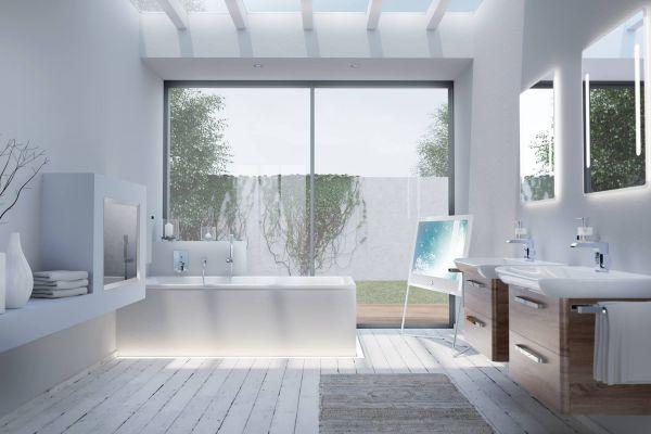 Ein Badezimmer.