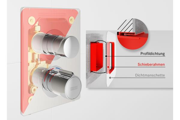 Optimiertes Wandeinbaukonzept für eine hochbeständige Bauwerksabdichtung