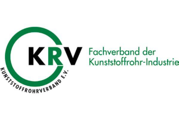 Das Bild zeigt das Logo des Kunststoffrohrverbandes.
