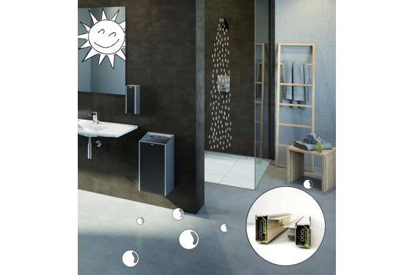 Nachhaltig Duschen mit Wärmerückgewinnung für mehr Effizienz im Objekt
