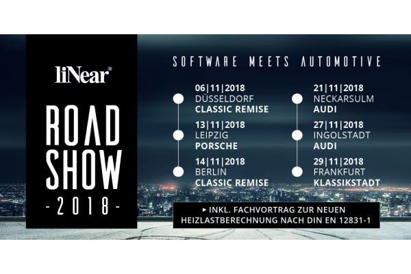 Software meets Automotive auf der Linear Roadshow 2018