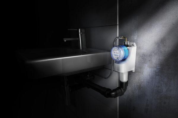 """Das Bild zeigt die Geberit-Hygienespülung """"Rapid""""."""