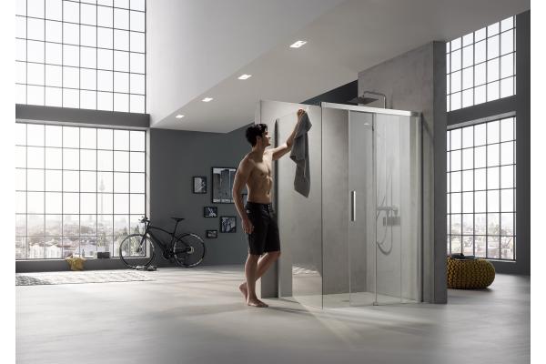 Kermi mit Neuheiten beim Duschdesign vertreten