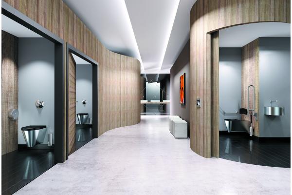 Design im öffentlichen Sanitärraum