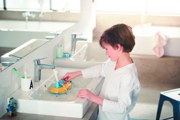 """Moderner Lifestyle, prototypisch in der jungen Familie zuhause – Kludi hat sich mit """"Pure&Style"""" darauf eingestellt."""