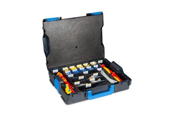Ein Werkzeugkoffer.