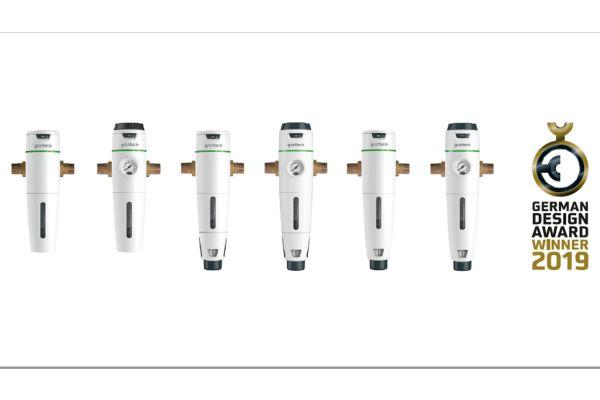 Das Bild zeigt die ausgezeichnete Filterbaureihe.