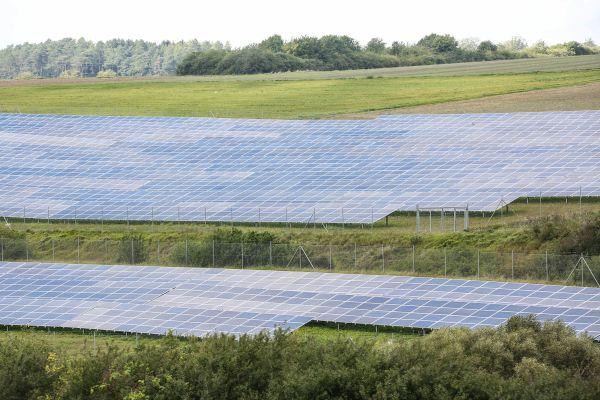 Solarpark in Wolfhagen.