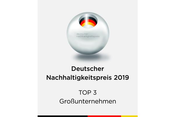 Spitzenposition beim Deutschen Nachhaltigkeitspreis