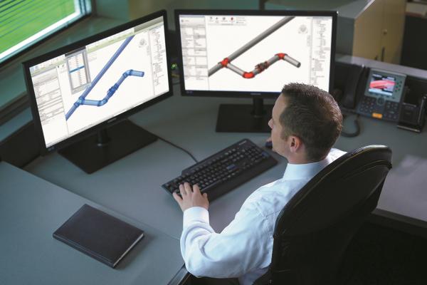 Add-In für Autodesk Revit erhöht BIM-Effizienz bei Rohrleitungsplanung