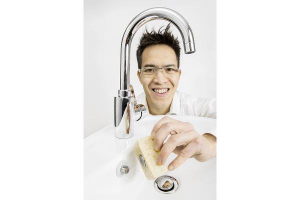 Schwebende Seife - Mehrwert für Sanitärprofis