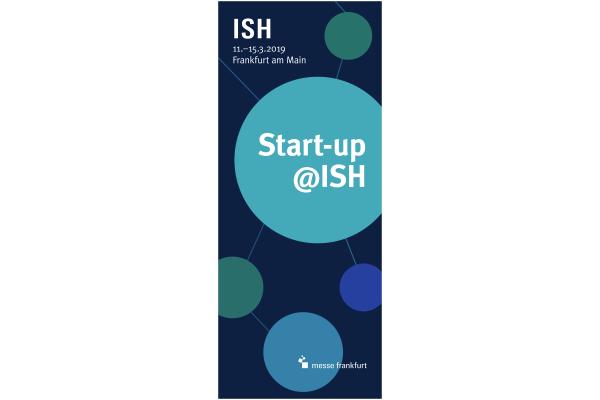 Innovative Start-ups auf der ISH treffen