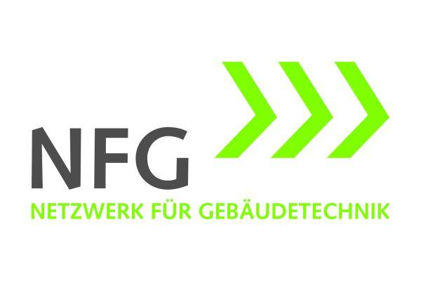 Logo des Netzwerks für Gebäudetechnik.