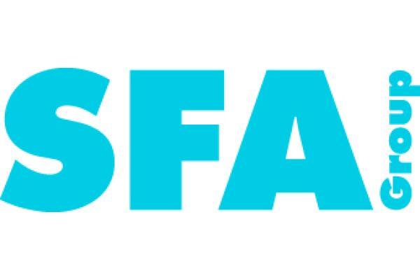 Das Bild zeigt das SFA-Firmenlogo.