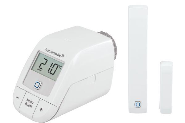 Ein Heizkörperthermostat von Homematic IP.