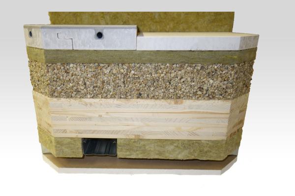 Lindner GFT: Flächenheizung für Holzbalken- und Brettsperrholzdecken