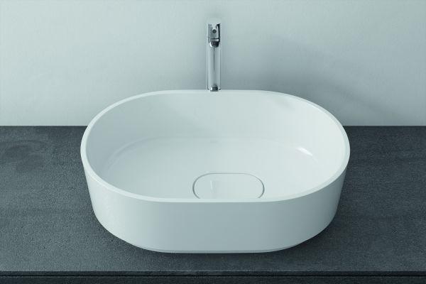 """Das Bild zeigt ein Waschbecken aus der Waschbecken-Kollektion """"Cadence""""."""