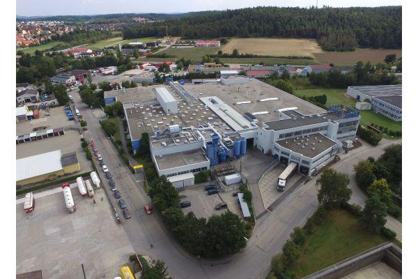 Das Bild zeigt die Produktionsstätte Burglengenfeld.