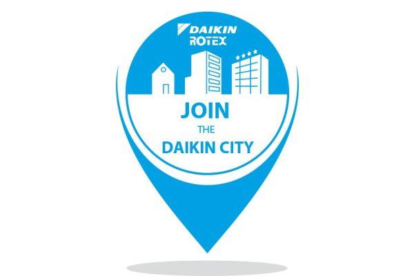 Werbebild für Daikin.