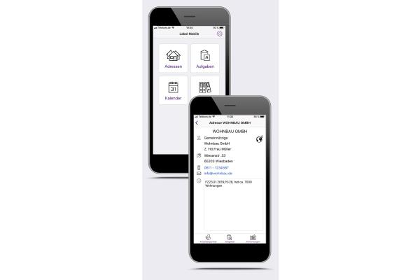 Label Software stellt den mobilen Chef 4.0 vor