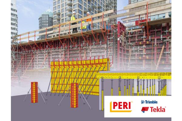 "Peri baut BIM-Content für ""Tekla Structures"" aus"