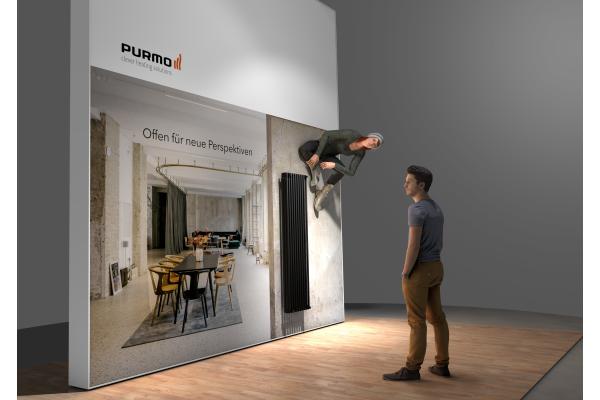 Purmo: Neue Flachheizkörper und Design-Perspektiven